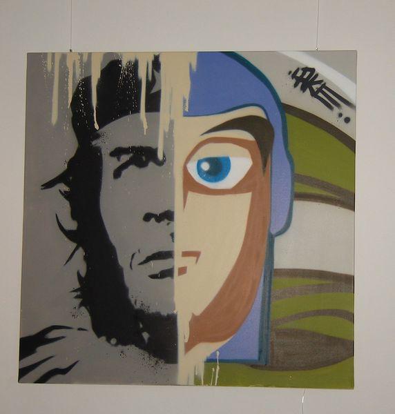 Graffiti, Street art, Malerei, Che,
