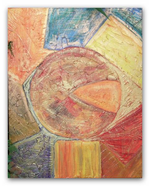 Malerei, Abstrakt, Bunt