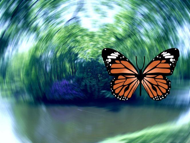 Digitale kunst, Digitale bilder, Sog, Zerstörung, Natur