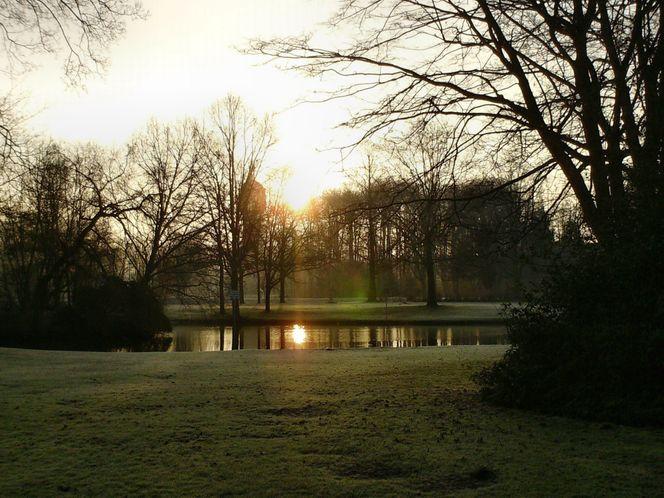 Sonne übern see, Fotografie, Wintersonne