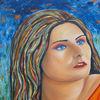 Portrait, Erwartung, Malerei,