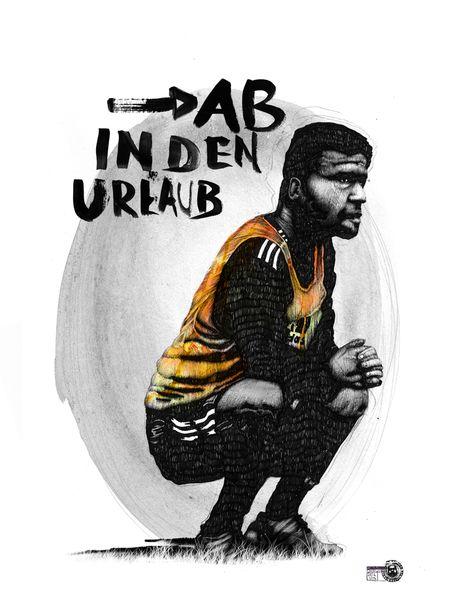 Indian ink, Michael ballack, Zeichnung, Deutschland, Fußball, Zeichnungen