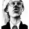 Weiß, Portrait, Menschen, Warhol