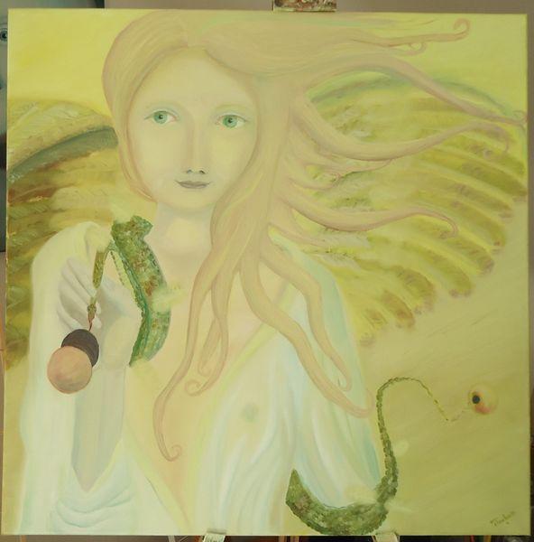 Ölmalerei, Lünen, Elenin, Malerei