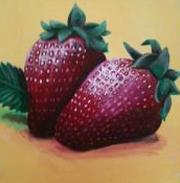 Erdbeeren, Warme töne, Wärme, Sommer, 2011, Appetit