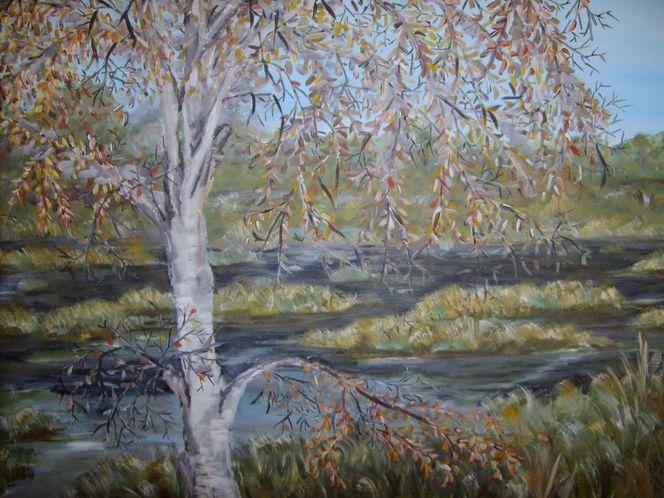 Moor, Ostfriesland, Ewig, Landschaft, Meer, Malerei