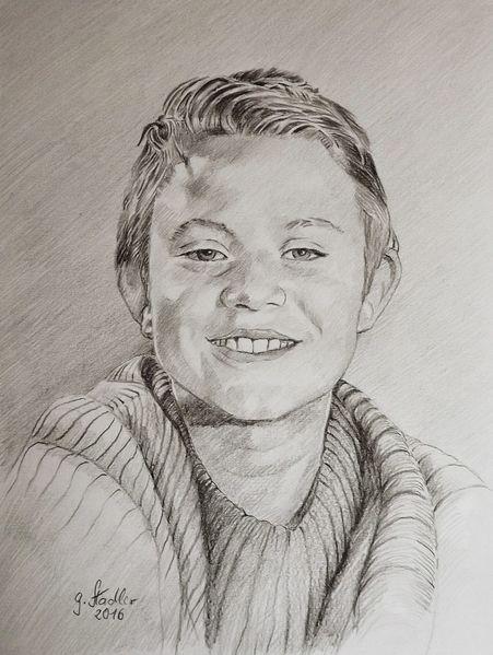 Junge, Kind, Eberbach am neckar, Sohn eines freundes, Portrait, Lächeln