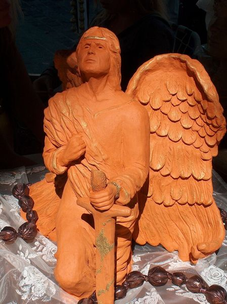 Himmel, Plastik, Skulptur, Mann, Auftragsarbeit, Detailgenau