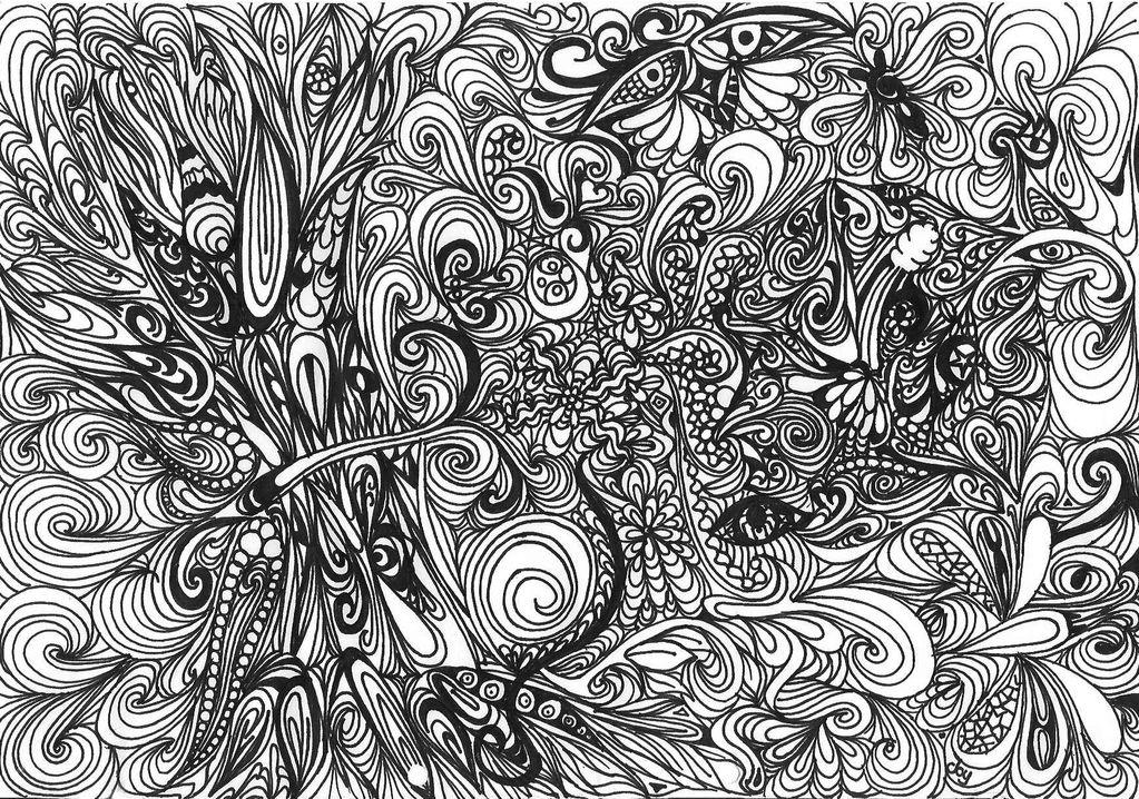 jungle schmetterling schwarz wei urwald zeichnungen von joy bei kunstnet. Black Bedroom Furniture Sets. Home Design Ideas