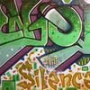 Enjoy the silence, Graffiti, Malerei, Abstrakt