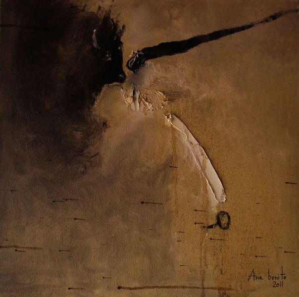 Stier, Malerei, Abstrakt