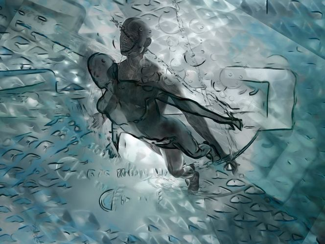 Fantasie, Digital, Digitale kunst, Abstrakt,