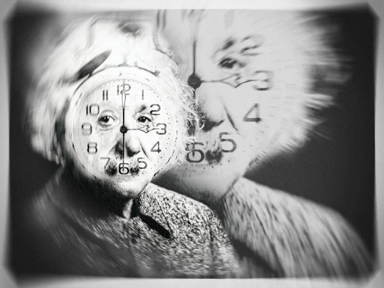 Einstein, Alles ist relativ, Geist, Digitale kunst