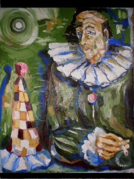 Malerei, 2012, Clown