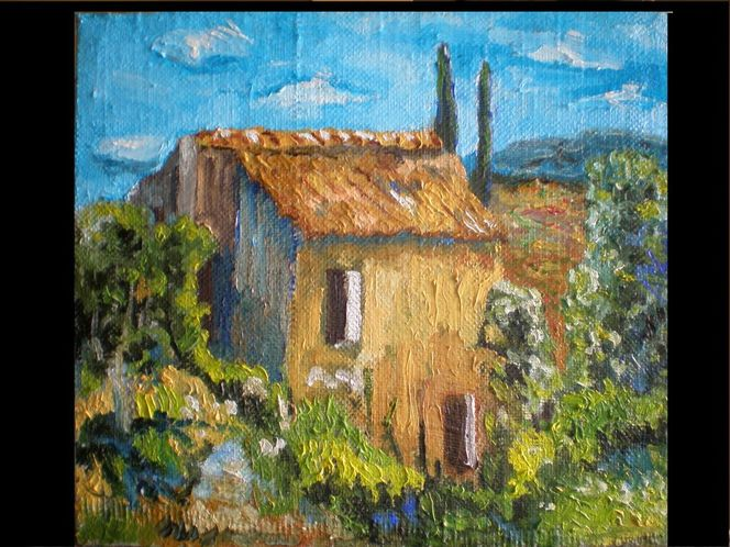 Malerei, 2012, Haus