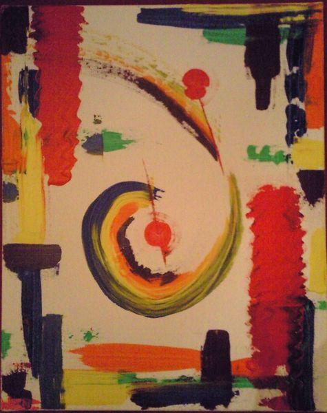Leinen, Malerei