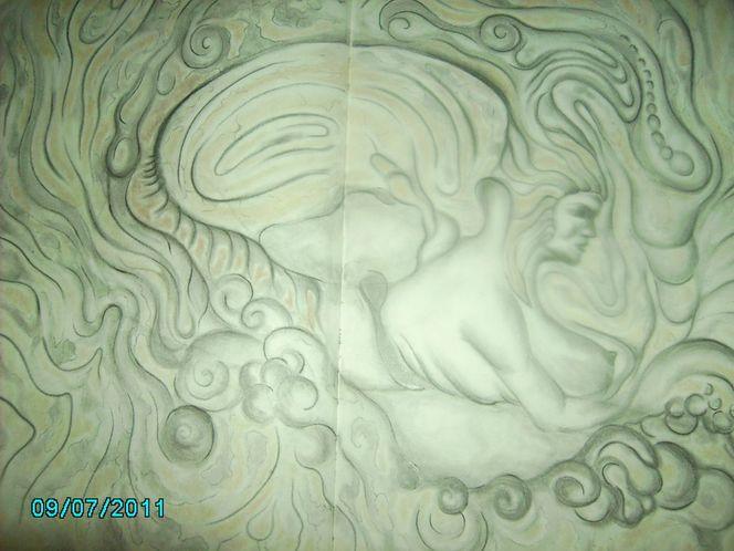 Malerei, Meerjungfrau