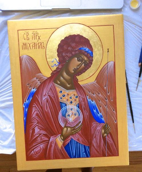 Orthodoxie, Heiliger michael, Ikonen, Religion, Malerei
