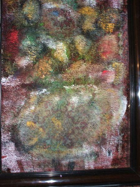 Bild Sommerstrauß, Acrylmalerei, Leben, Mischtechnik von