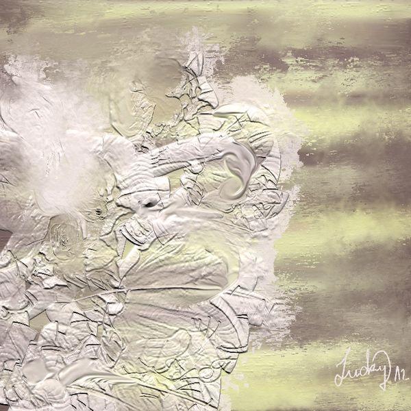 Blumen, Abstrakt, Weiß