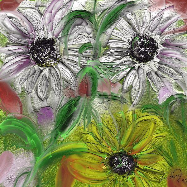 Frühlingsduft, Malerei, Blumen
