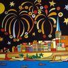 Proposal, Jaune, Valletta, Feuerwerk