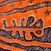 Malerei, Orange, Esel, Tarn