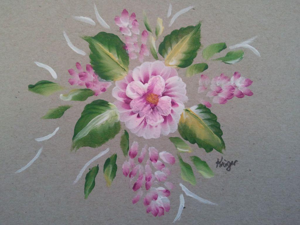 Folk Art One Stroke Painting Online