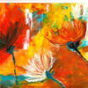 Malerei, Abstrakt, Blumen
