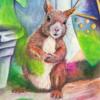 Frech, Tiere, Wildtier, Eichhörnchen