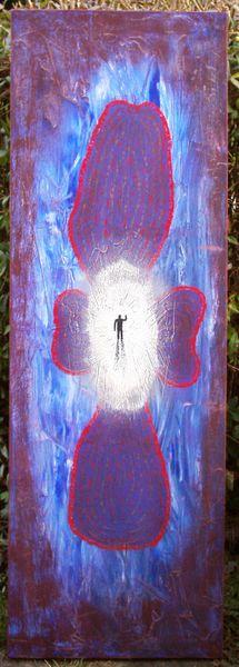 Farben, Gemälde, Abschied, Malerei