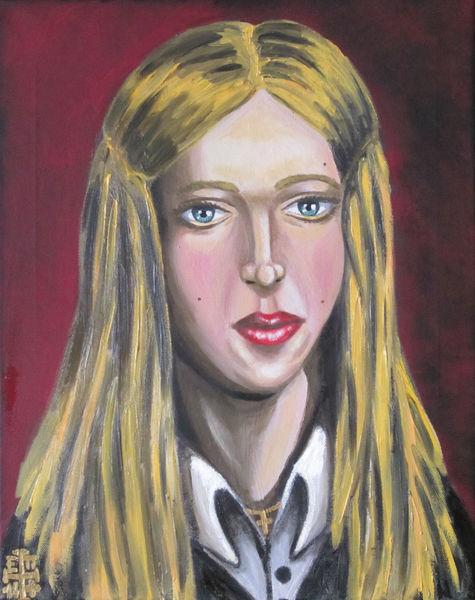 Portrait, Christ, Blond, Frau, Glaube, Hellena