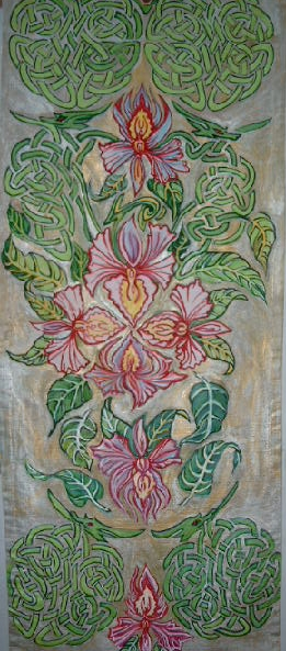 Blühten blätter, Kunsthandwerk, Holz u, Blätter