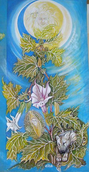Apfel, Critter, Frauen pflanzen, Kunsthandwerk, Holz u