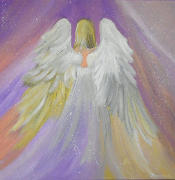 Liebe, Engel, Glitzern, Beschützen, Traum, Romantik
