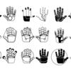 Hand, Abstrakt, Hände, Kreis