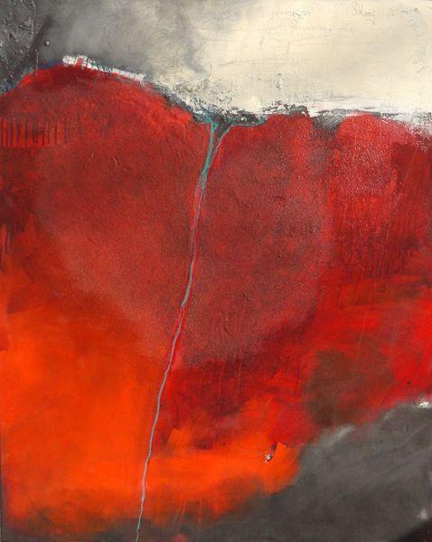 Creme, Rot, Landschaft, Grau, Struktur, Oberflächenstruktur