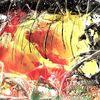Firestorm - encaustic, feuer, naturgewalt, inferno, höhle, leuchtend, licht, hölle