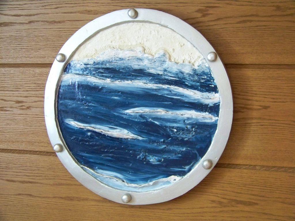 Meeresauge - Wasser, Bullauge, Sand, Schiff von askara_jinn bei KunstNet