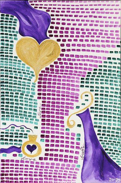 Leben, Gemälde, Liebe, Jayc, Aquarellmalerei, Jayc jay arts