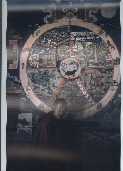 Asien, Mönch