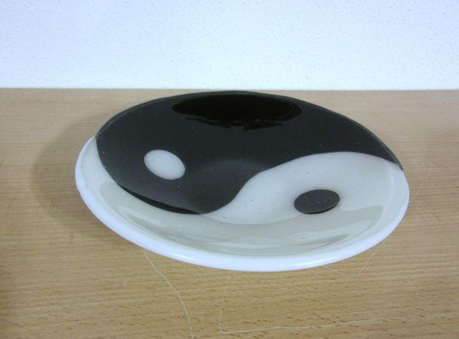 Fusingglas, Glasobjekt, Fusing, Glasschale, Glas, Kunsthandwerk