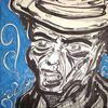 Acrylmalerei, Marker, Gangster, Korn