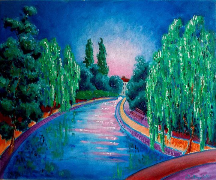 Malerei, Kanal