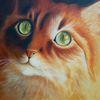 Katze, Ölmalerei, Tiere, Tiermalerei
