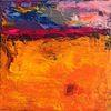 Abstrakt, Expressionismus, Meer, Himmel