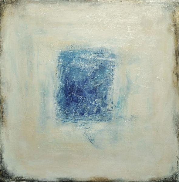 Weiß, Triptychon, Metall, Raum, Abstrakt, Geometrisch