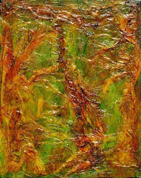 Struktur, Grün, Schimmer, Farbverlauf, Relief, Modern