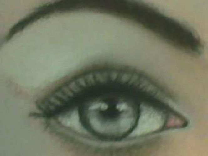 Auge1, Aquarell