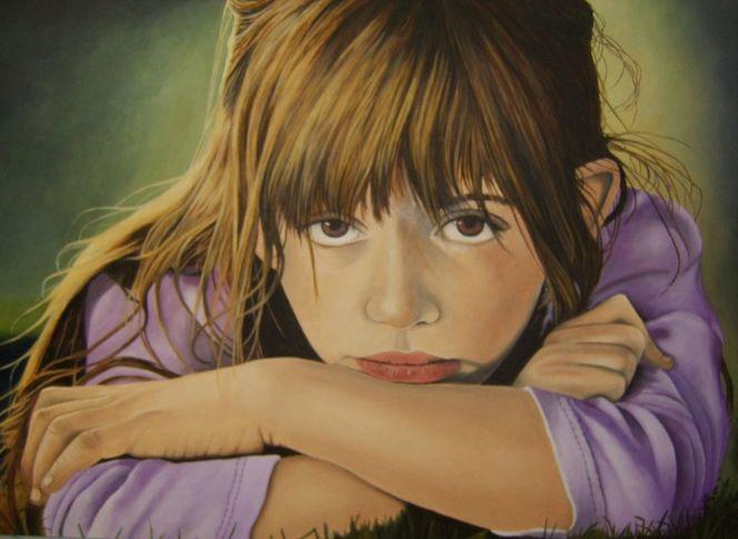 Depression, Kindheit, Malerei, Menschen